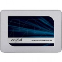 SSD Crucial MX500 500 GB, SSD interface SATA, Write speed 510 MB/s, Read speed 560 MB/s
