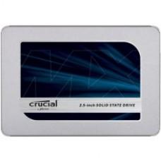 SSD Crucial MX500 500 GB, SSD interface SATA, Write speed 510 MB/s, Read speed 560 MB/s